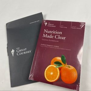 NWT-The Great Courses-Nutrition-6 Discs